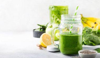 Energising green smoothie