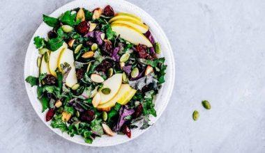 Fresh from my basket - Kale salad