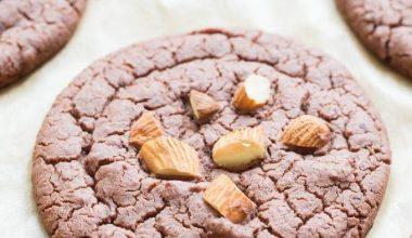 Gluten-free almond butter cookie