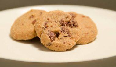 Gluten free chocolate and orange cookie