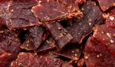 Is Beef Jerky Processed