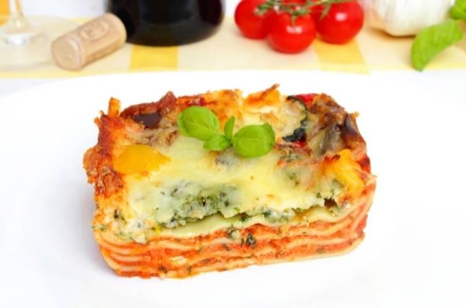 Kids-friendly veggie lasagna