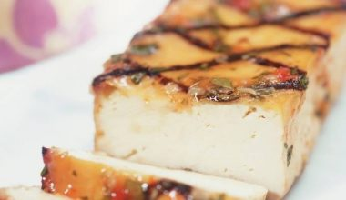 Lentil and tofu loaf