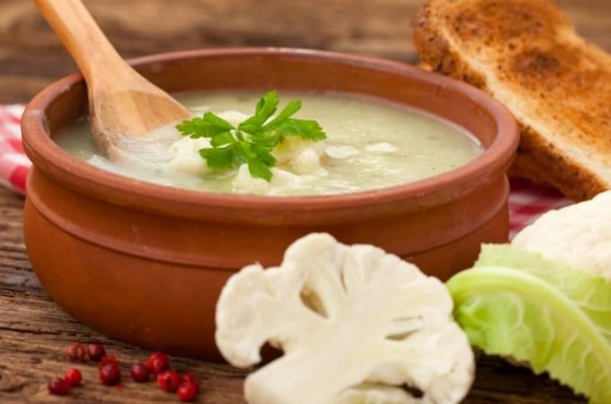 Soup of the week - Creamy cauliflower soup