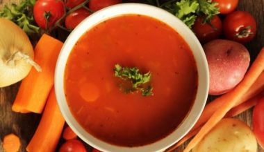 Soup of the week - Fall vegetable soup