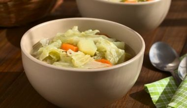 Soup of the week - Kale and Savoy cabbage soup