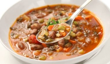 Soup of the week - Minestrone soup
