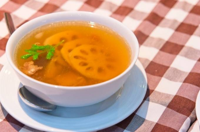 Soup of the week - White roots soup